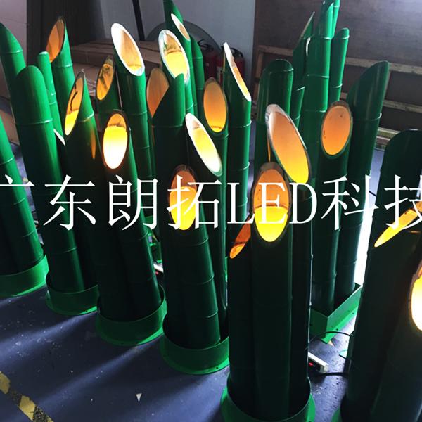 上海LED光纖竹子燈