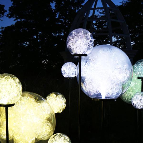 上海GLO-015 光纖麥穗大球燈