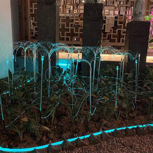 上海文旅定制光纖花束燈